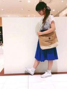 青スカート