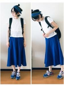 リュック スカート