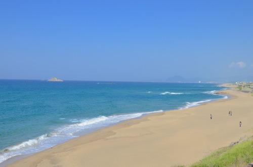 鳥取県の海